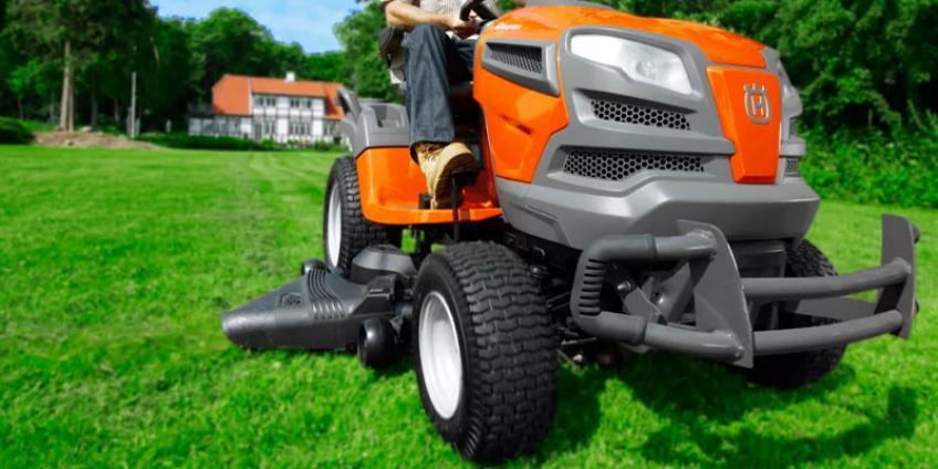 Садовые тракторы - газонокосилки с сиденьем Husqvarna
